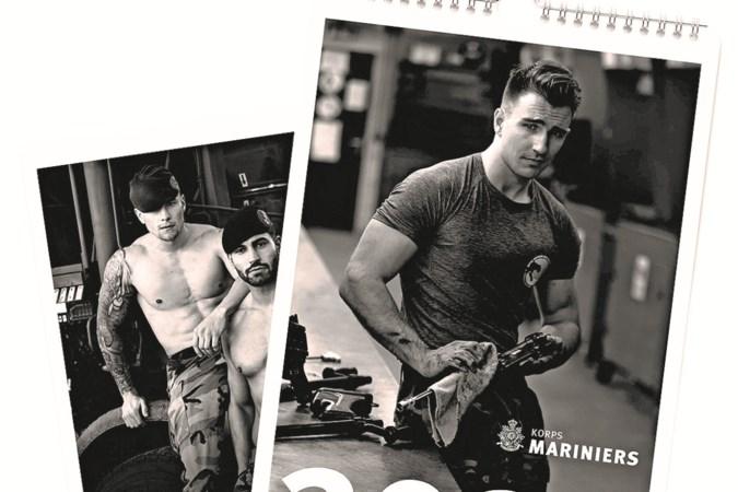 'Pikant met een knipoog' op marinierskalender