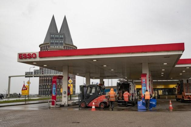 Tankstation bij brug Roermond ontmanteld