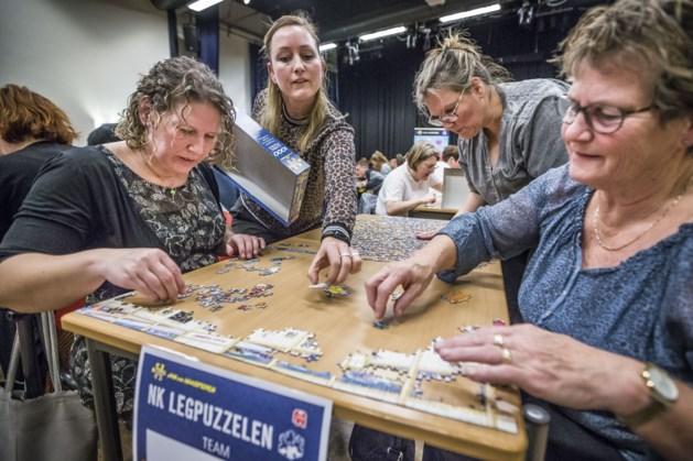 Race tegen de klok bij voorronde NK legpuzzelen in Meterik