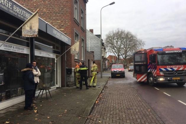 Brand in woonwinkel in Maastricht