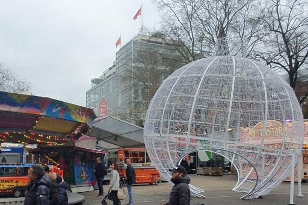 Eindejaarsevenement Wintertijd in Heerlen met opbouw begonnen