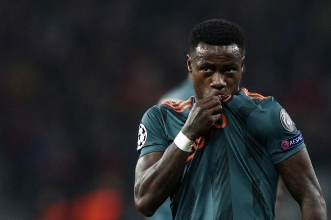 Forse tegenvaller: Ajax mist Promes tegen Valencia