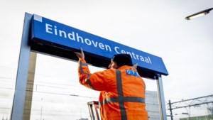 De trein komt voortaan binnen op Eindhoven Centraal