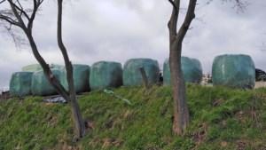 Gemeente verbiedt opslag hooibalen in buitengebied Eys