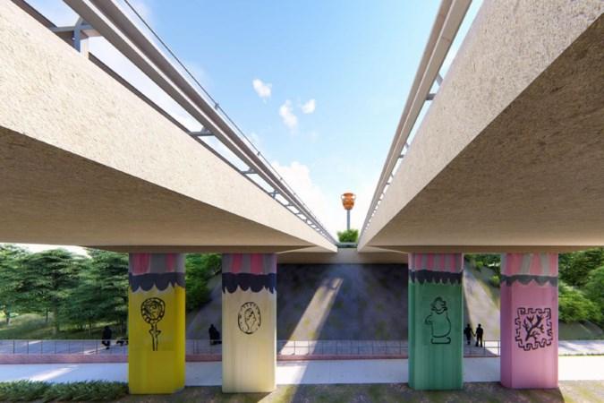 Brugdecoratie zorgt weer voor discussie en ophef in Bocholtz