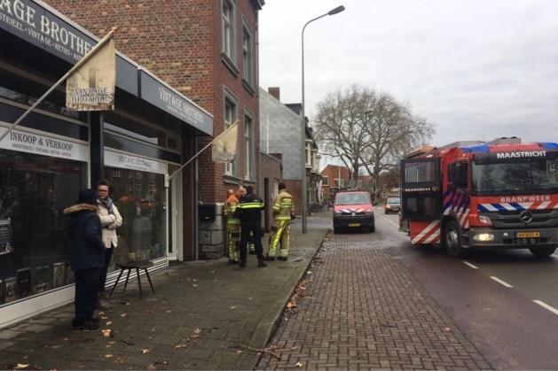 Brand in woonwinkel Maastricht aangestoken
