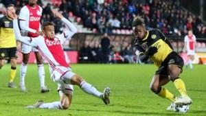 Talentenklas van Ajax geeft Roda harde les in effectiviteit