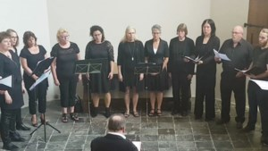Eerste concerten regionaal close harmony koor Chavel