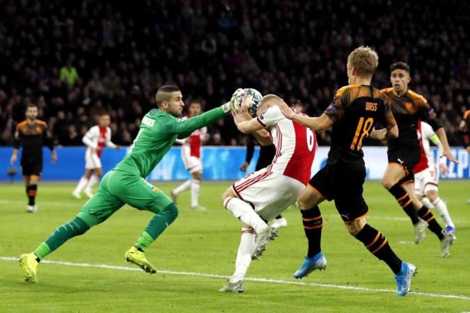 Schijnwerpers niet meer op Ajax in Europa