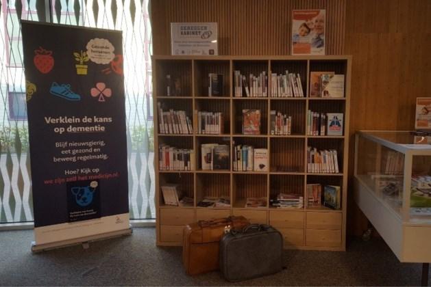 Geheugentafel in Bibliotheek Landgraaf