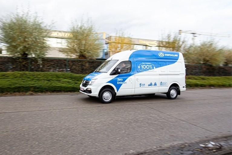 Elektrische bestelbus uit China komt naar Nederland: dit is de Maxus