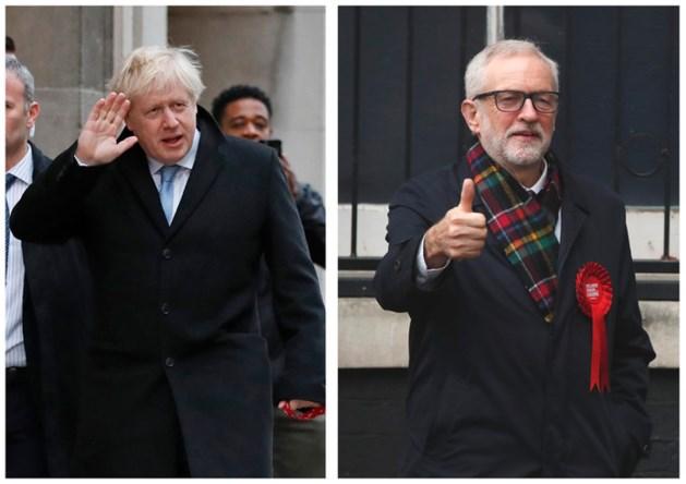 LIVE: Exit polls: Boris Johnson haalt grote meerderheid en wint verkiezingen