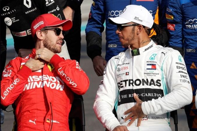 Ferrari 'gevleid' door interesse van Hamilton