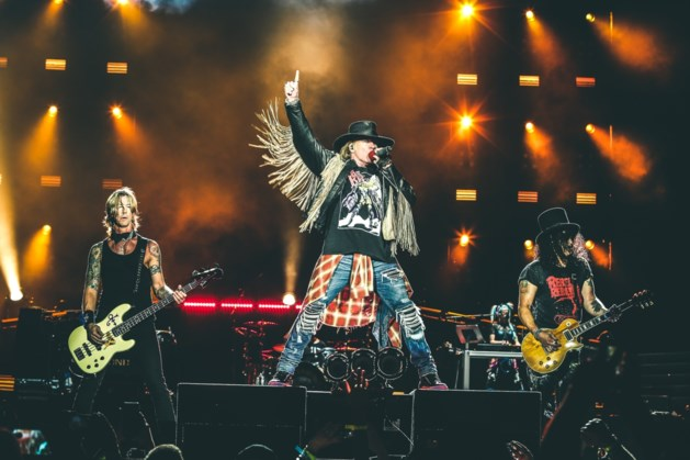 Guns N' Roses mag volgend jaar Pinkpop afsluiten