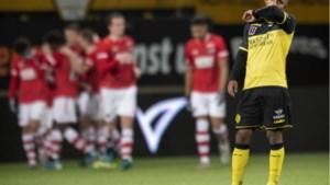 Akelig leeg stadion triest decor van opnieuw ploeterend Roda