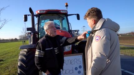 Video: Boeren zijn er klaar mee: 'de media verdraaien alles!'