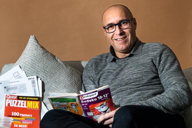 Met deze hobby krijgt stress geen kans: Julius Winkens (48) uit Puth lost graag onmogelijke sudokupuzzels op