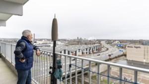 Sinds de fly-over wordt gebruikt kunnen bewoners van Maastrichtse flat niet meer op balkon zitten