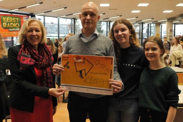 Kerstactie Raaylandcollege: 6500 euro voor Kika