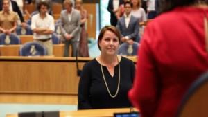 Kamerlid Kelly Regterschot pendelt tussen werk en privé: 'Ik zit iedere ochtend te facetimen tijdens het ontbijt'