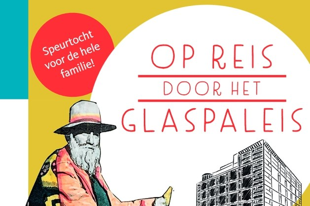 Speurtocht 'Op reis door het Glaspaleis' in Heerlen