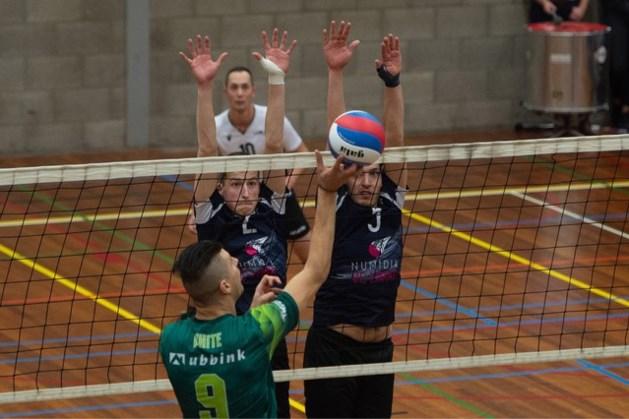 Volleyballers Limac kunnen niet stunten tegen landskampioen