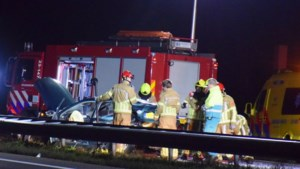 Auto's botsen op A73: minstens één gewonde naar ziekenhuis