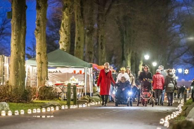 Lichtjestocht Auxiliatrixpark luidt de kerst in