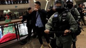 Politie Hongkong zet traangas in tegen demonstranten op kerstavond