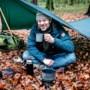 Kamperen in de winter: eerst een rondje rennen, dan de tent in