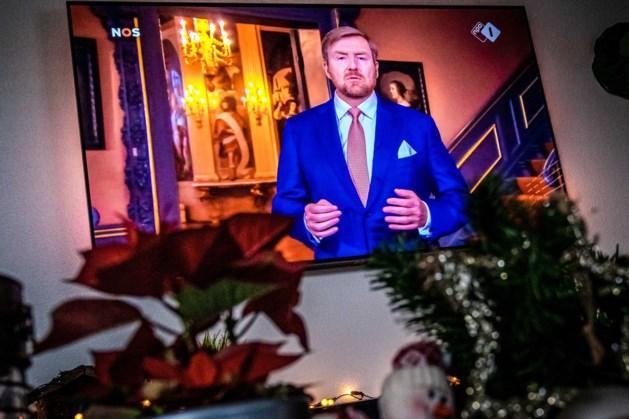 1,5 miljoen kijkers voor kersttoespraak van de koning