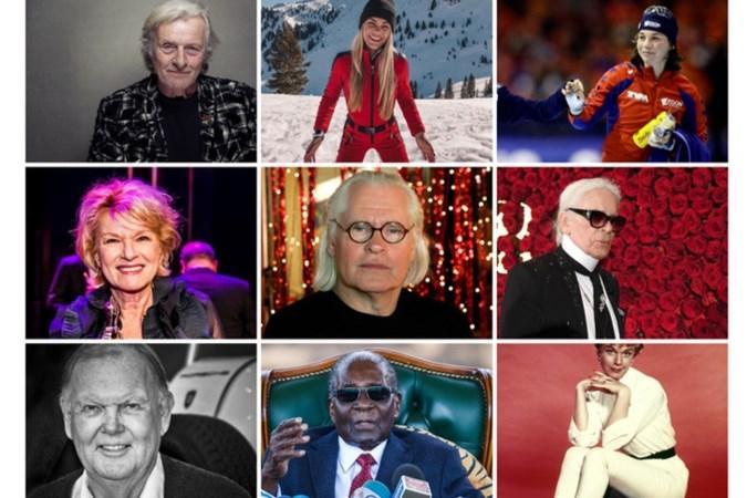 Deze beroemdheden verloor de wereld in 2019