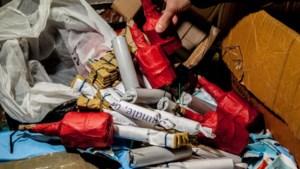 Politie neemt minder illegaal vuurwerk in beslag