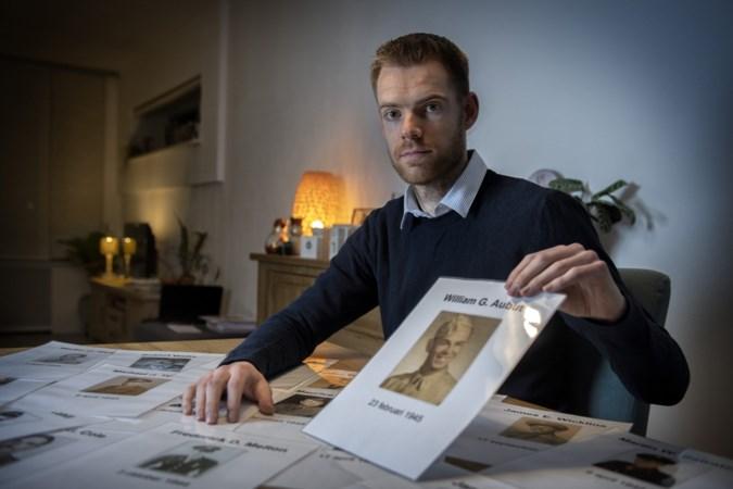 Jori (27) achterhaalt verhalen achter graven Amerikaanse begraafplaats Margraten