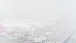 Vliegverkeer Eindhoven Airport ontregeld door mist