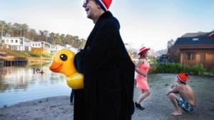 De nieuwjaarsduik: carnaval op de eerste dag van het jaar