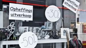 Aantal faillissementen in Limburg stijgt voor het eerst in zes jaar