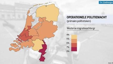 Blauw op straat in Limburg vooral wit: 'Diversiteit is voor ons vakmanschap'