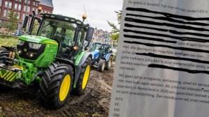 Dierenactivisten ontkennen betrokkenheid bij dreigbrief aan boeren: 'Dit lijkt wel een pubergrap'