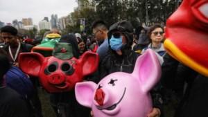 Aanhoudende protesten in Hongkong zorgen voor sterke daling van winkelverkopen