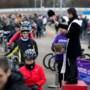 Kapelaan die fietsers inzegent geeft geen garantie voor lekke band