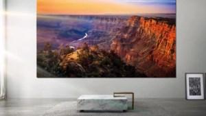 Samsung presenteert tv van ruim 7 meter breed