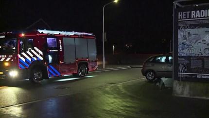 Video: Man door brandweer gered uit pand na brand in kelder
