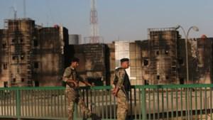 Twee raketten raken 'groene zone' in Bagdad