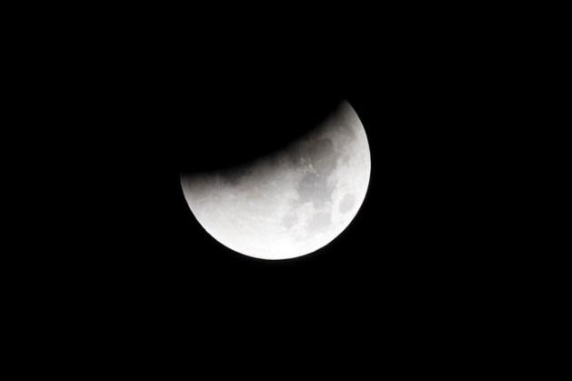 Maansverduistering goed te zien in Nederland