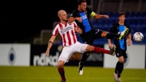PSV legt het nipt af tegen Club Brugge