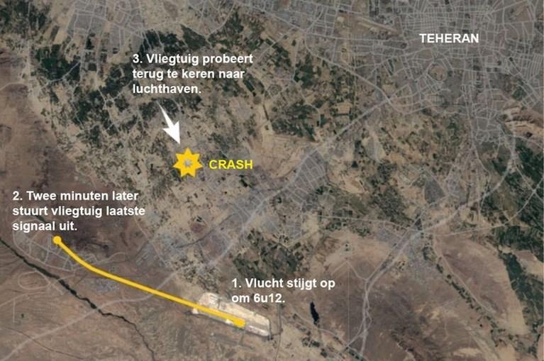 Videobeelden tonen dat Oekraïens vliegtuig geraakt lijkt te worden door raket