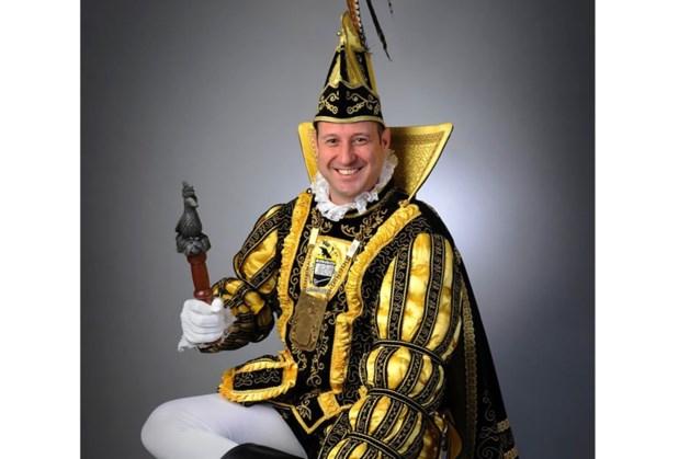 Prins Freddy I van D'n Doal uit Herkenbosch houdt receptie