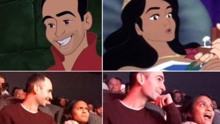 Man kaapt favoriete Disneyfilm vriendin voor huwelijksaanzoek