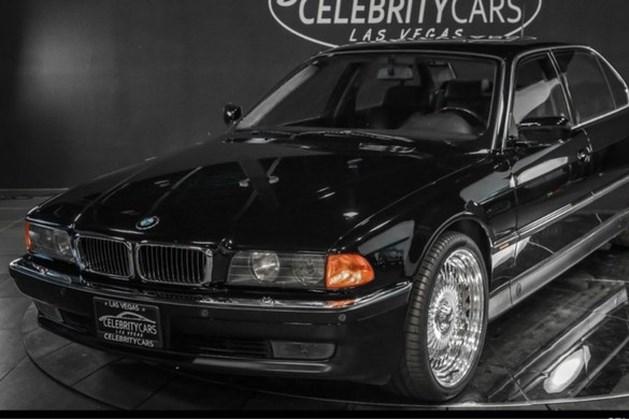 Te koop: BMW waarin Tupac zat toen hij werd vermoord - inclusief kogelgaten